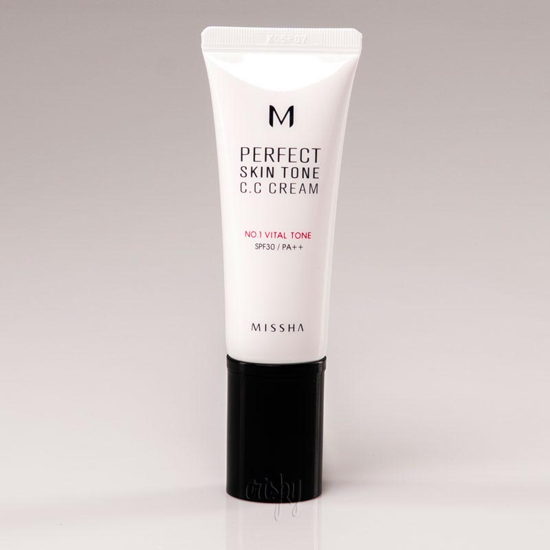 CC-крем с перламутром MISSHA M Perfect Skin Tone CC Cream SPF30/PA++ - 40 мл