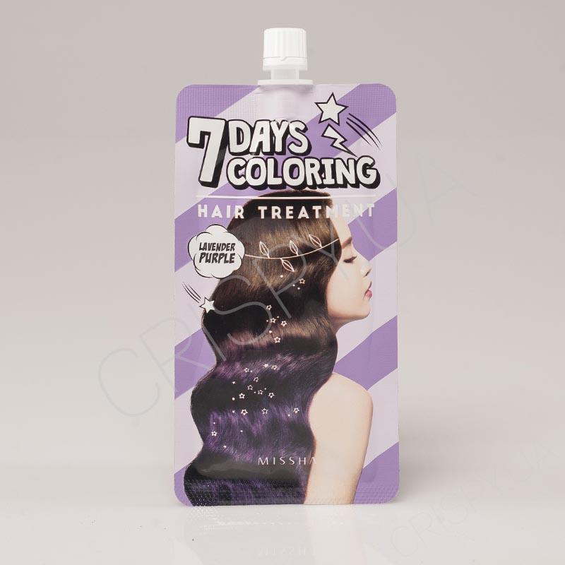 Быстроокрашивающая (тонирующая) маска для волос Missha 7 Days Coloring Hair Treatment - 25 мл