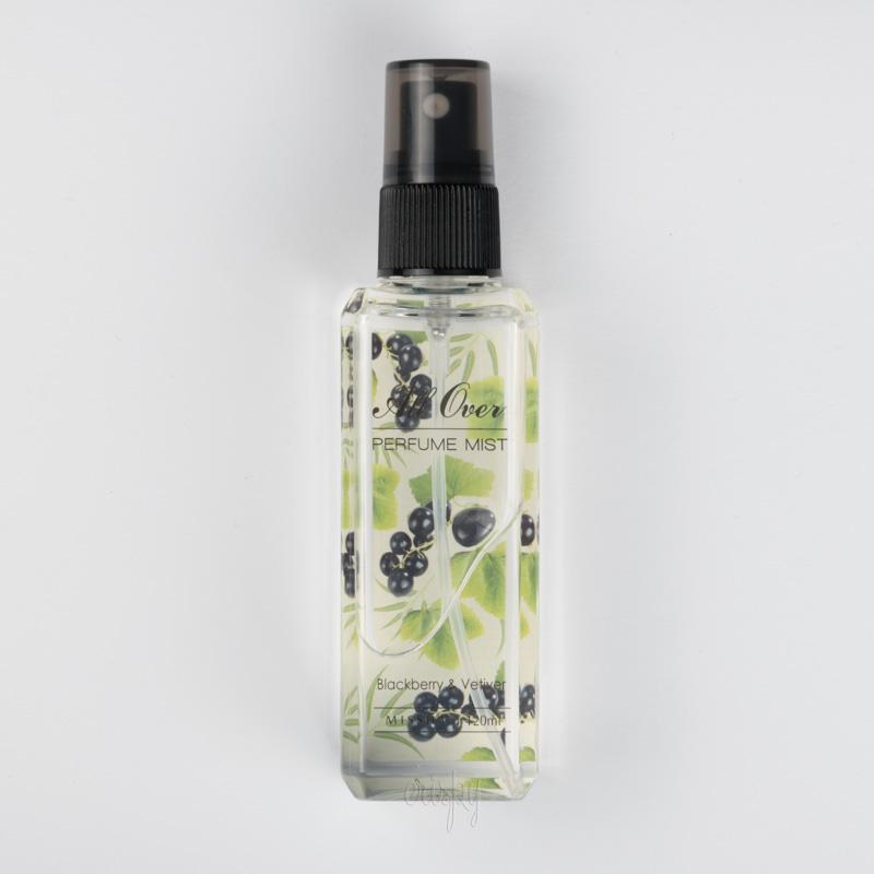 Универсальный мист с фруктовым ароматом All Over Perfume Mist Blackberry & Vetiver MISSHA - 120 мл - Фото №2