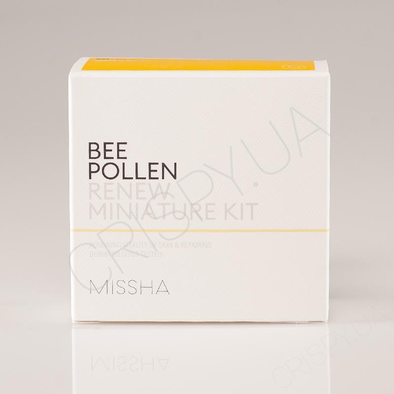 Набор обновляющих средств для лица Missha Bee Pollen 2 kind set - 10+10 мл