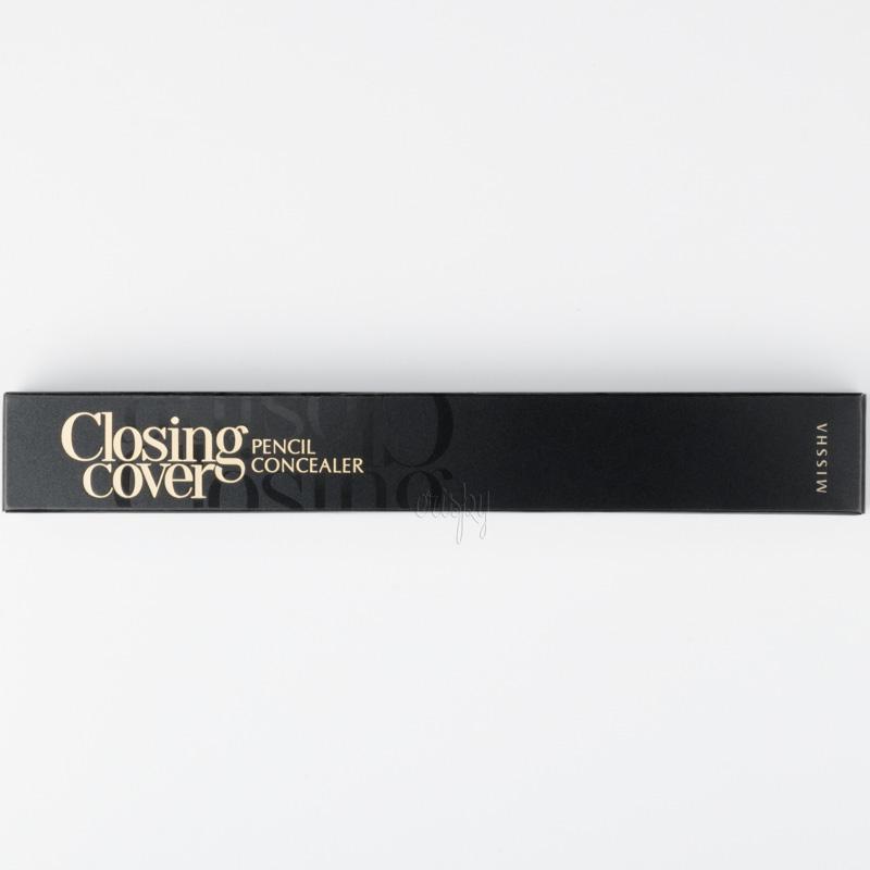 Маскирующий и моделирующий консилер для лица Closing Cover Pencil Concealer MISSHA