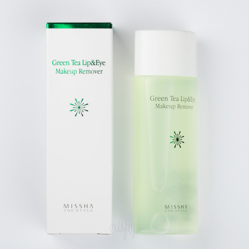 Средство для снятия макияжа с глаз, губ MISSHA The Style Green Tea Lip & Eye Makeup Remover