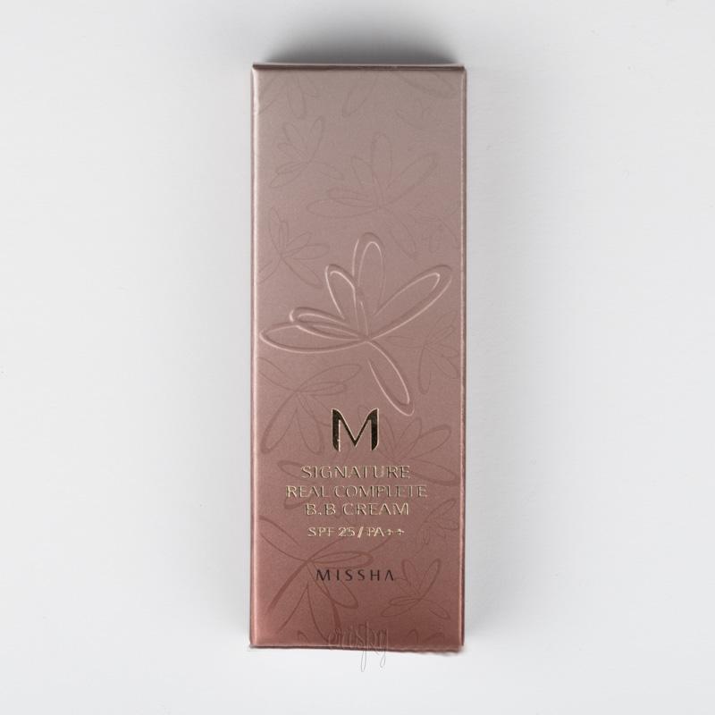 Многофункциональный BB-крем M Signature Real Complete BB Cream SPF25/PA++ MISSHA - 20 г