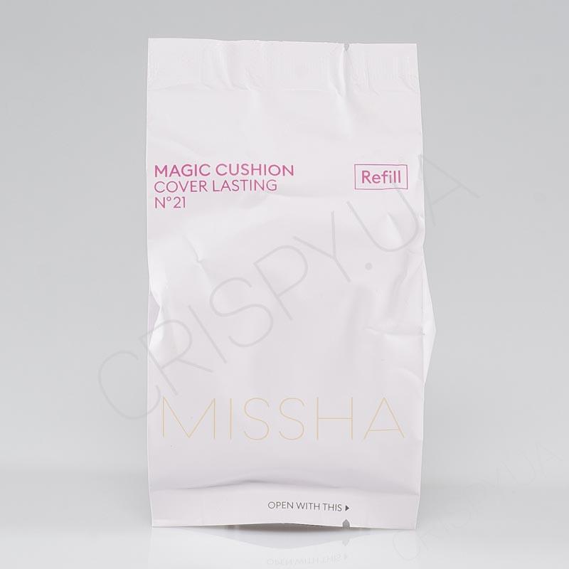 Запаска к кушону MISSHA MAGIC CUSHION COVER LASTING (REFILL) - 15 г