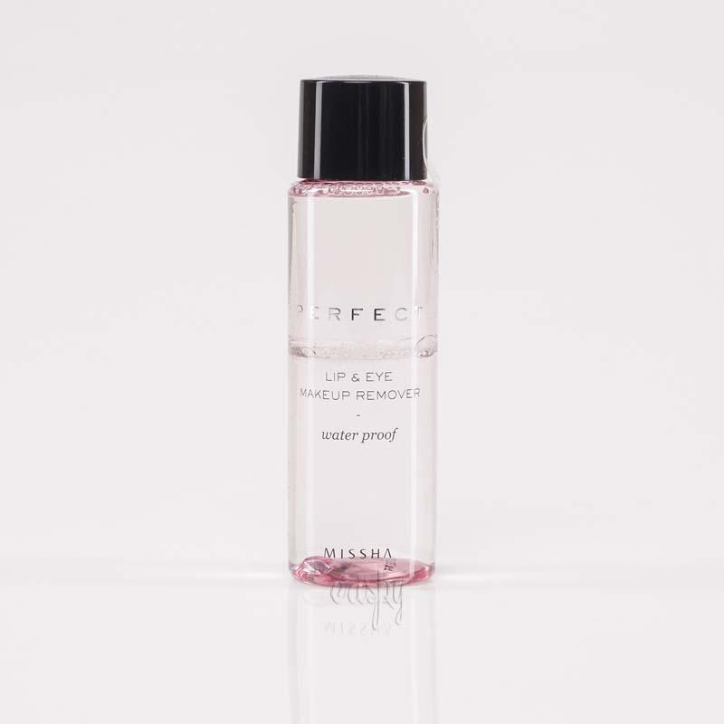 Жидкость для удаления водостойкого макияжа с глаз и губ MISSHA Perfect Lip & Eye Make-Up Remover (Water-Proof) - 100 мл - Фото №2