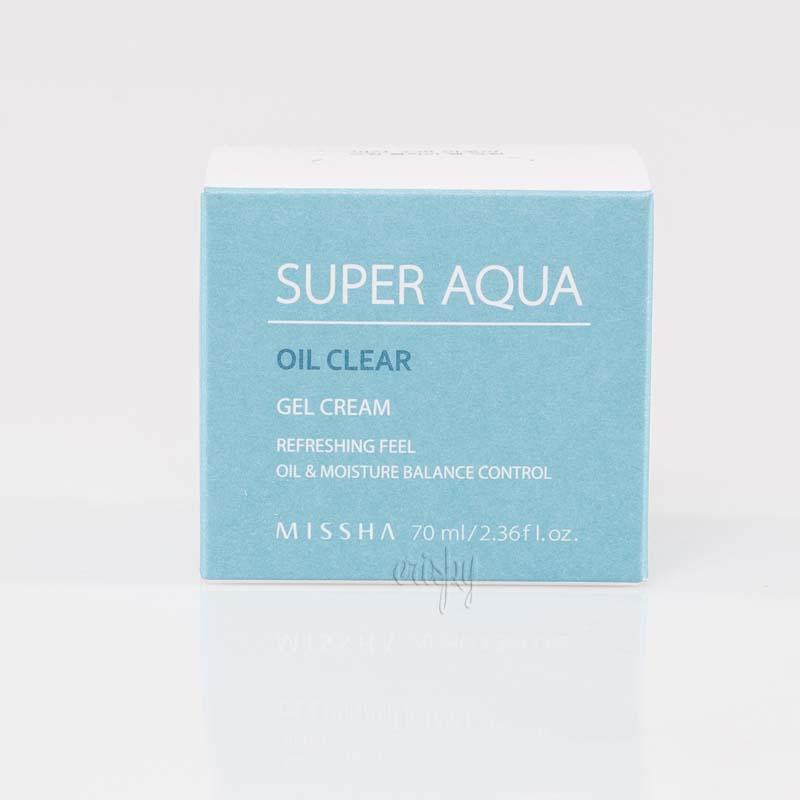 Экстраувлажняющий крем для лица MISSHA Super Aqua Oil Clear Gel Cream - 70 мл