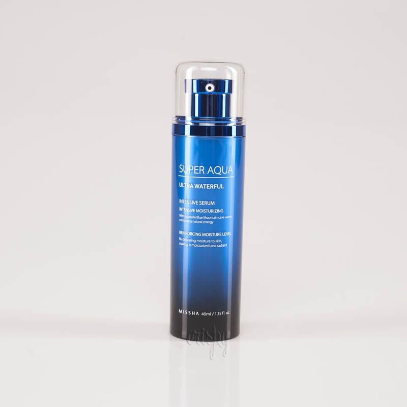 Интенсивно увлажняющая сыворотка для лица MISSHA Super Aqua Ultra Waterful Intensive Serum - 40 мл