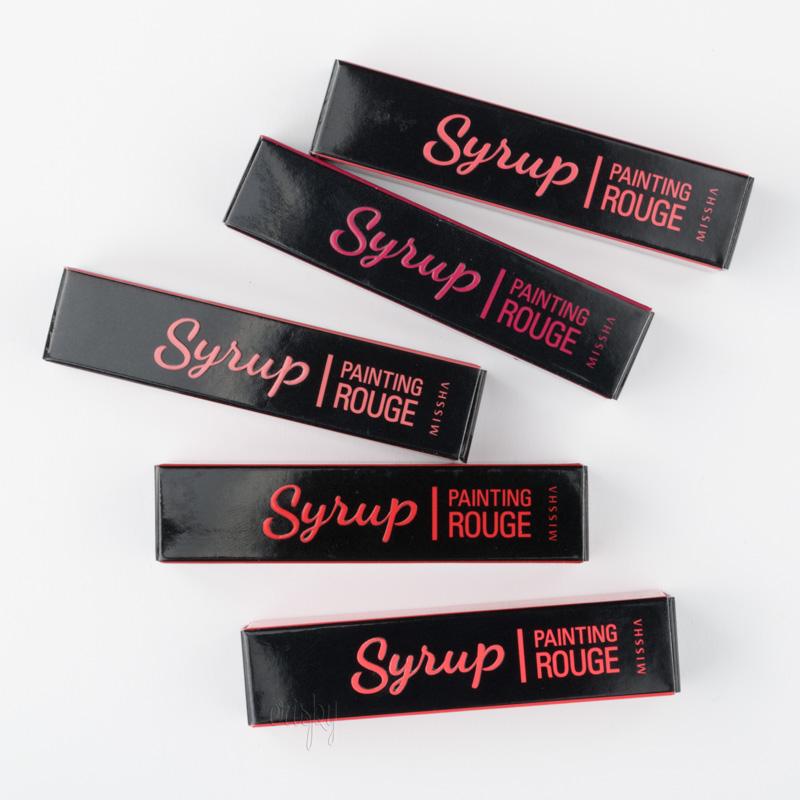 Жидкая помада для губ Painting Rouge Syrup MISSHA - 5,3 г