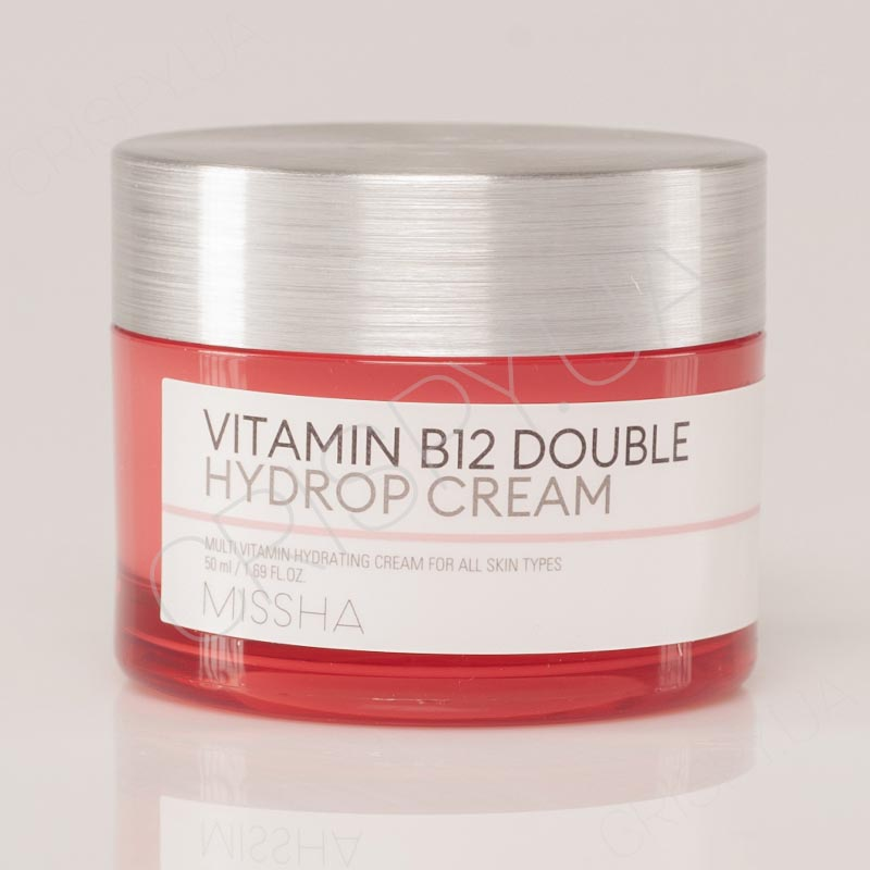 Витаминный крем для восстановления кожи MISSHA VITAMIN B12 DOUBLE HYDROP CREAM - 50 мл