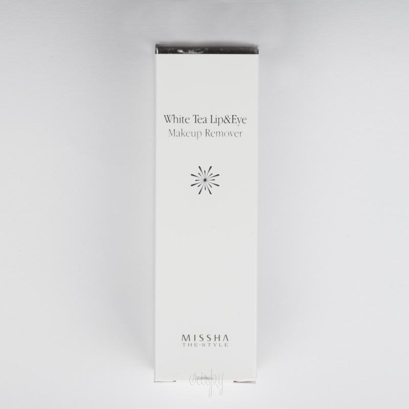 Многофункциональное средство для снятия макияжа с глаз и губ The Style White Tea Lip & Eye Makeup Remover (R) MISSHA