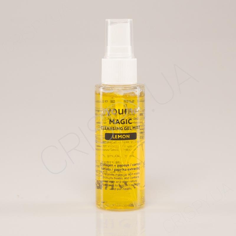 Гель-мист для очищения лица с лимоном AYOUME MAGIC CLEANSING GEL MIST LEMON - 50 мл