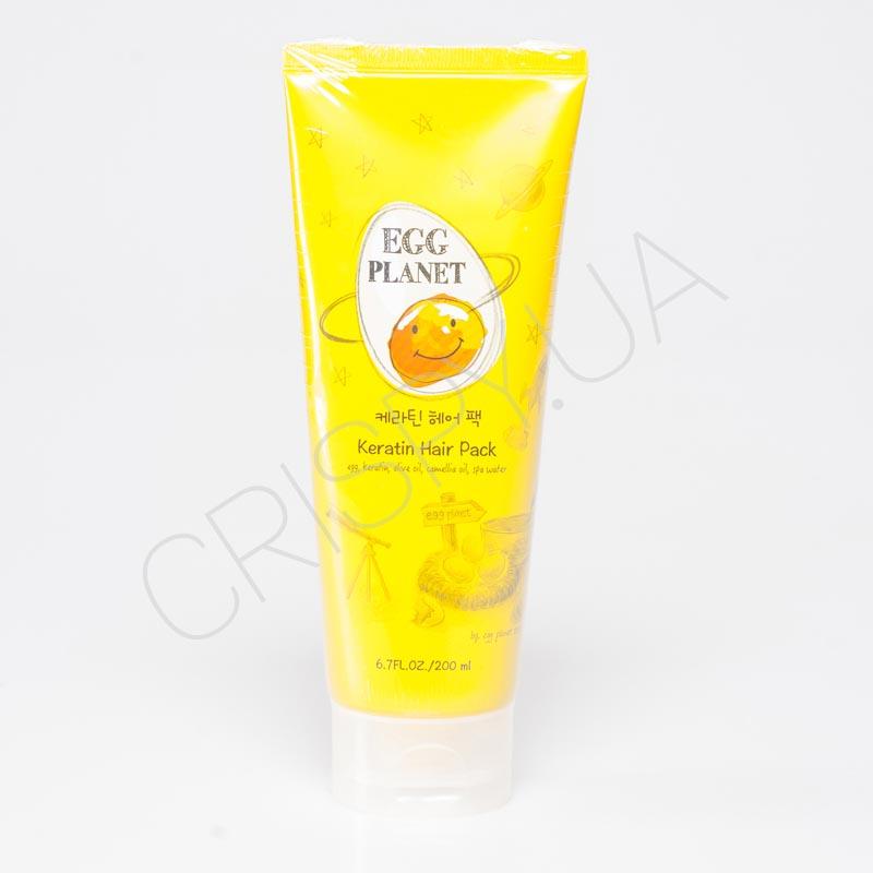 Кератиновая маска для волос восстанавливающая Daeng Gi Meo Ri Egg Planet Keratin Hair Pack - 200 мл