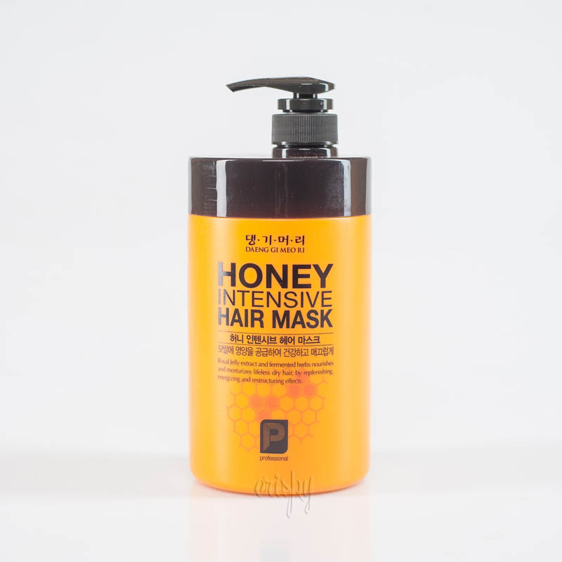 Маска «Медовая терапия» для восстановления волос DAENG GI MEO RI Honey Intensive Hair Mask - 1000 мл - Фото №2