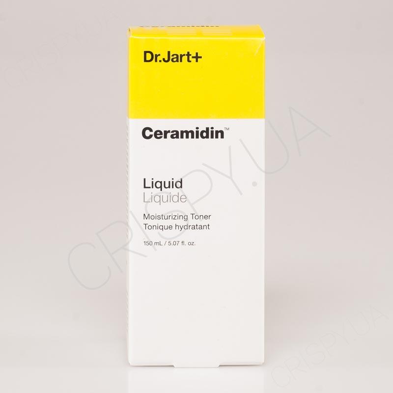 Увлажняющий тонер с керамидами Dr.Jart Ceramidin Liquid Toner - 150 мл