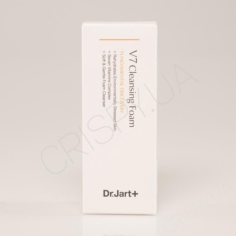 Пенка с витаминами DR. JART+ V7 Cleansing Foam Fundamental Discovery - 100 мл