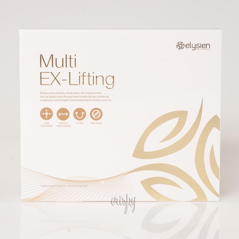 Набор масок для лица с омолаживающим эффектом ELYSIEN MULTI EX-Lifting