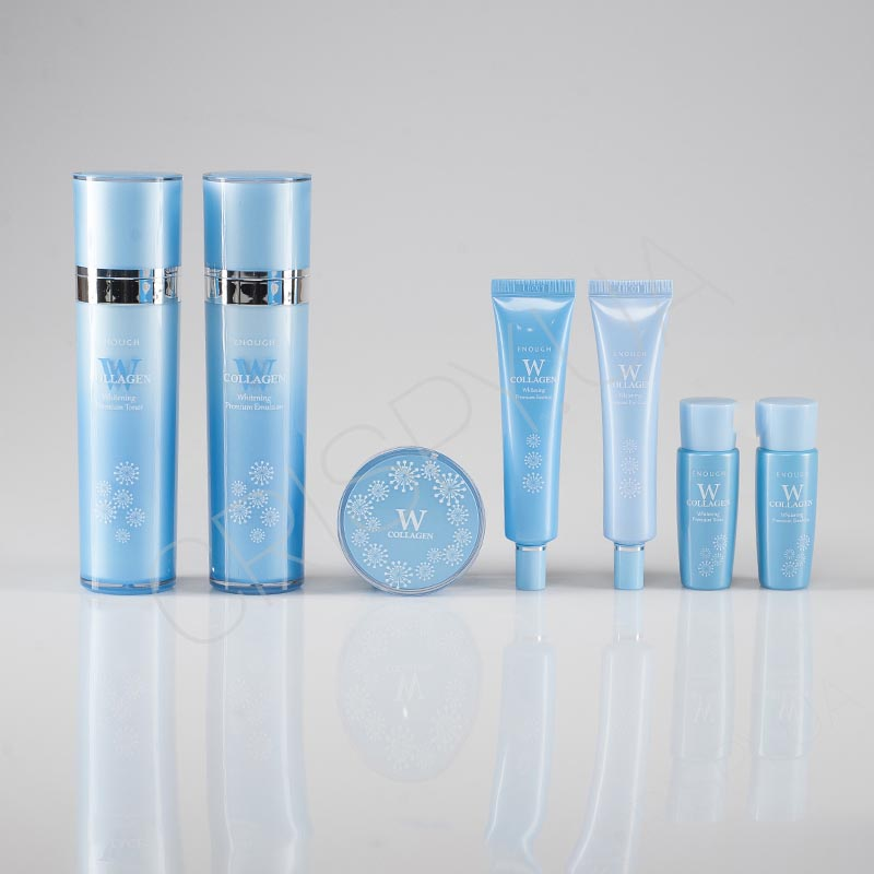 Набор средств для лица с коллагеном Enough W Collagen Whitening Premium Skin Care 5 Set - 5 предметов