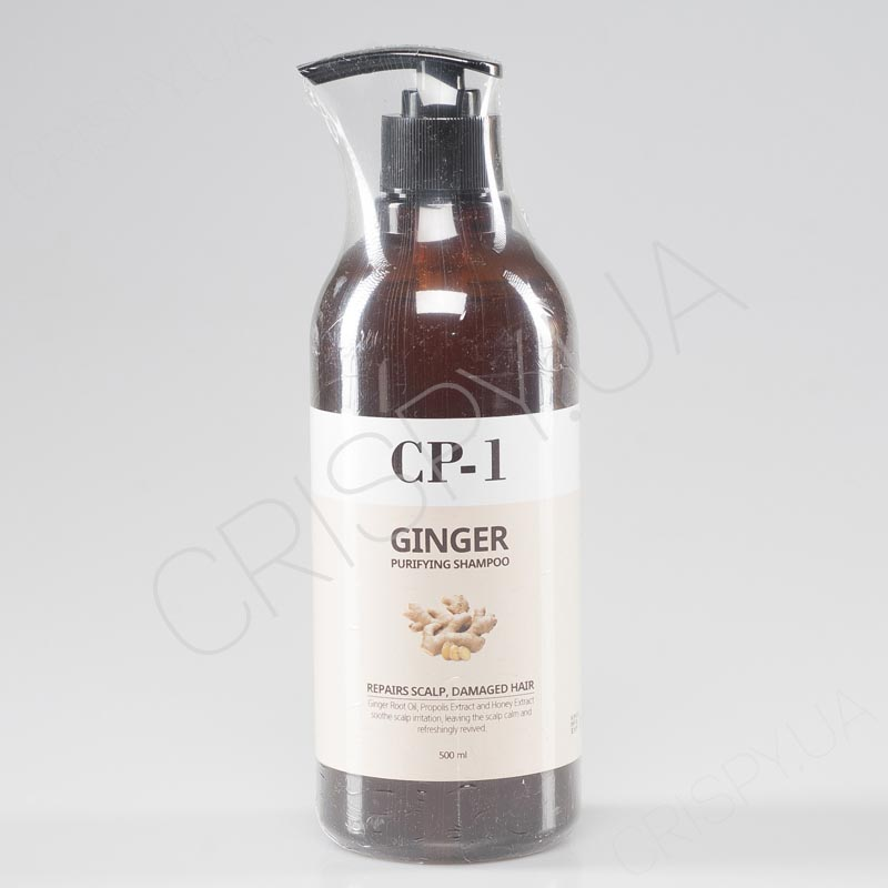 Интенсивно питающий шампунь для волос CP-1 Ginger Purifying Shampoo - 500 мл