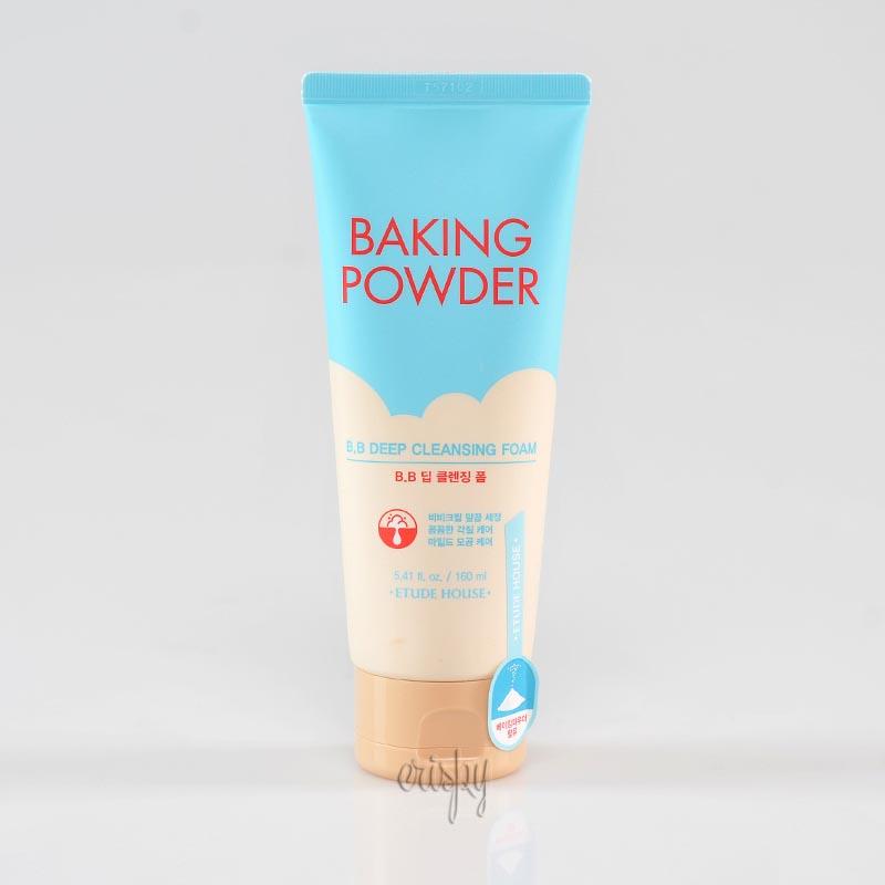 Пенка для снятия BB-крема Etude House Baking Powder Pore & BB Deep Cleansing Foam - 160 мл - Фото №2