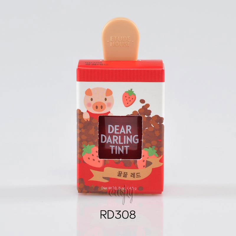 Тинт для губ «Эскимо» Etude House Dear Darling Tint Ice Cream - 4,5 г