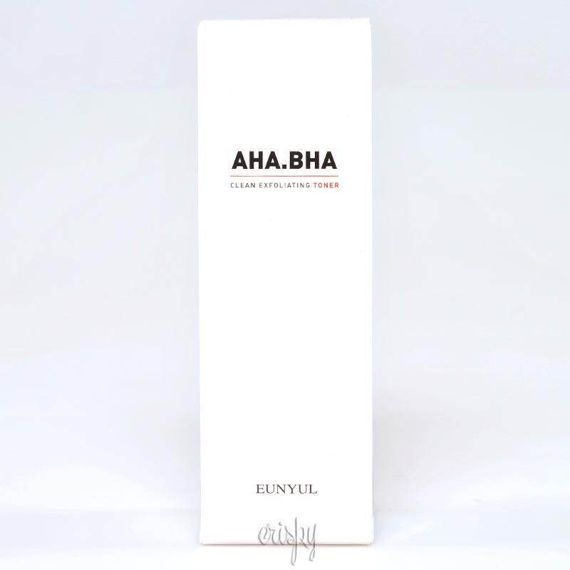 Тонер с кислотами для чистой кожи Eunyul AHA BHA Clean Exfoliating Toner - 180 мл