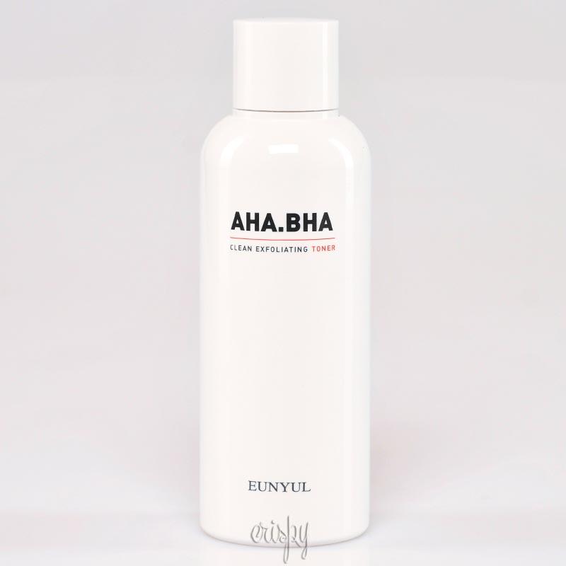 Тонер с кислотами для чистой кожи Eunyul AHA BHA Clean Exfoliating Toner - 180 мл - Фото №2