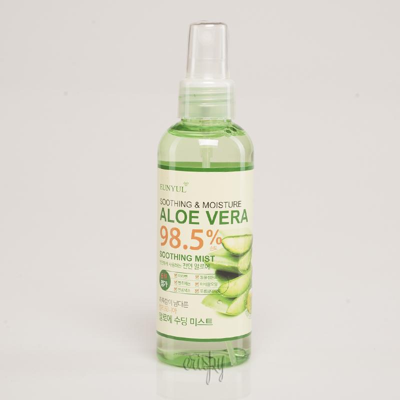 Увлажняющий мист для лица на алоэ вера EUNYUL Aloe vera 98.5 % Soothing Mist - 150 мл