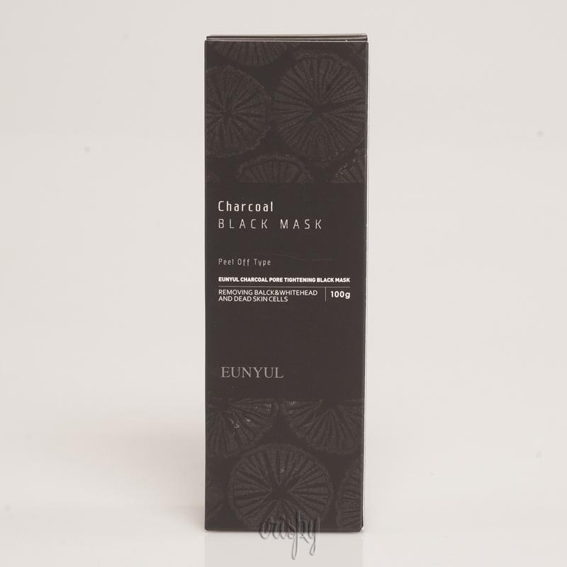 Маска с углем для чистки и сужения пор EUNYUL Charcoal Pore Tightening Black Mask - 100 г