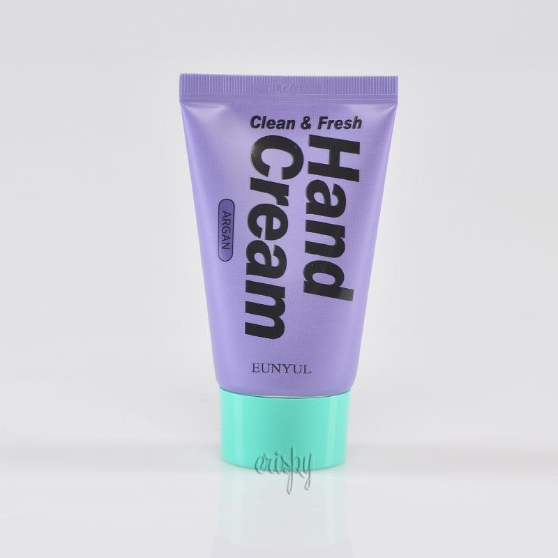 Крем с аргановым маслом для молодости кожи рук Eunyul Clean & Fresh Argan Hand Cream - 50 г - Фото №2
