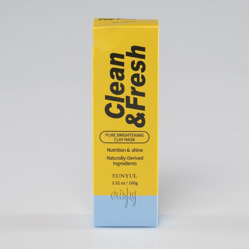 Глиняная маска против пигментации EUNYUL Clean & Fresh Pure Brightening Clay Mask - 100 г