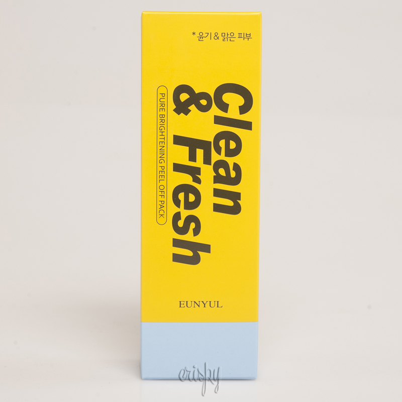 Маска-пленка для сияния кожи EUNYUL Clean & Fresh Pure Brightening Peel Off Pack - 100 мл