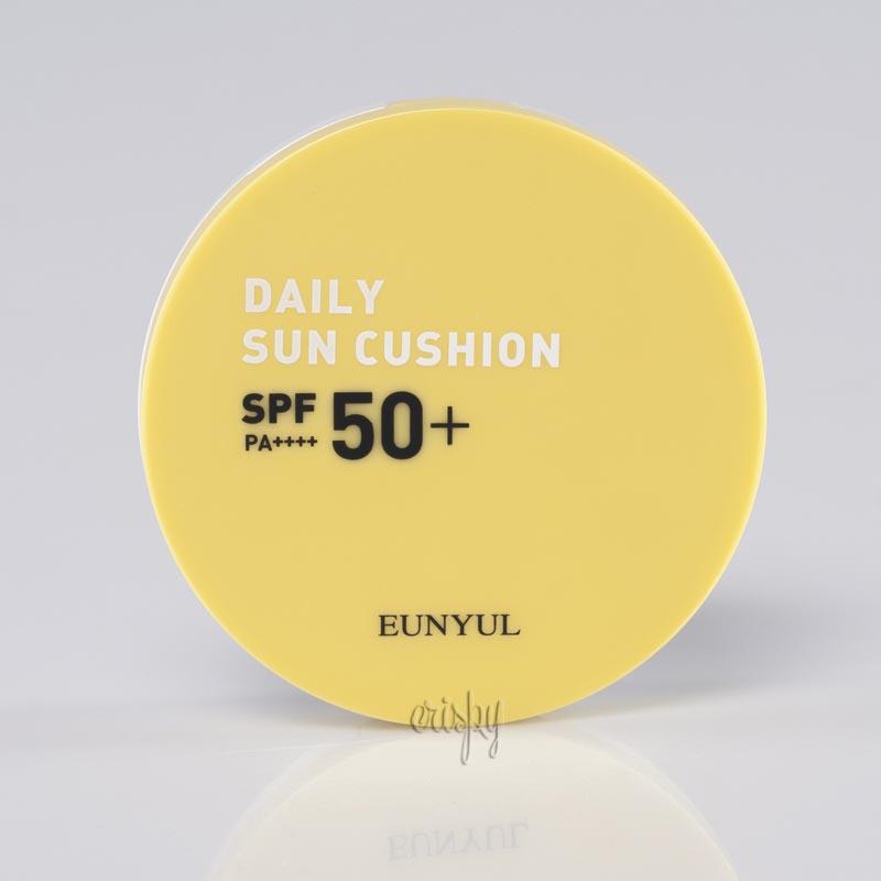 Кушон солнцезащитный Eunyul Daily Sun Cushion SPF 50+ PA++++ - 13 г