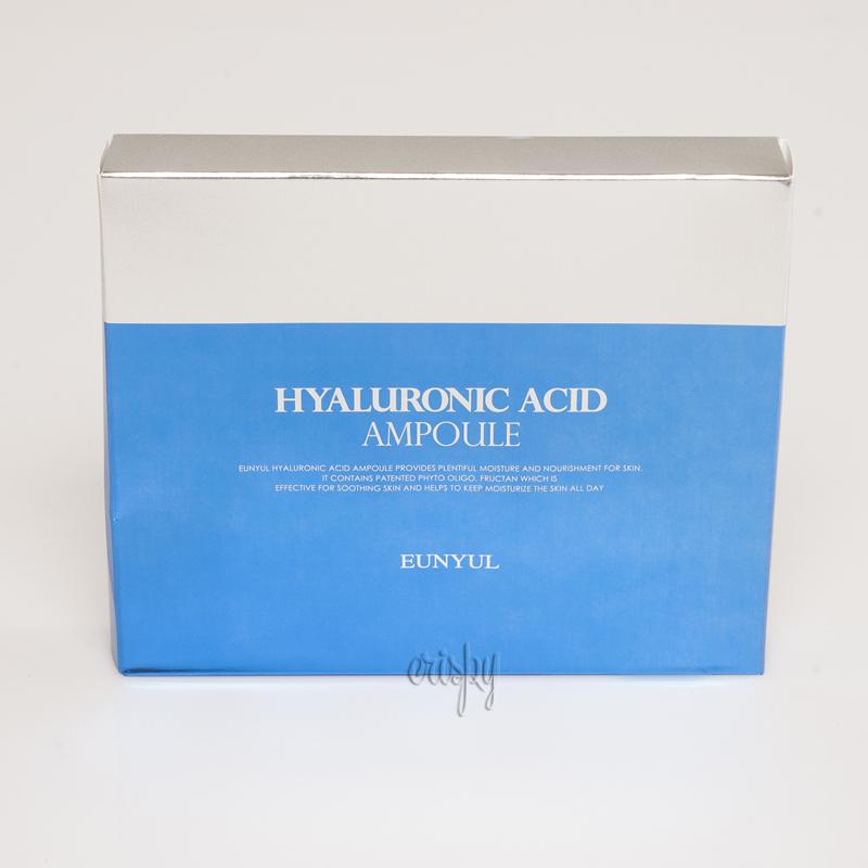 Набор ампульных сывороток с гиалуроновой кислотой EUNYUL Hyaluronic Acid Ampoule Set - 4×12 мл