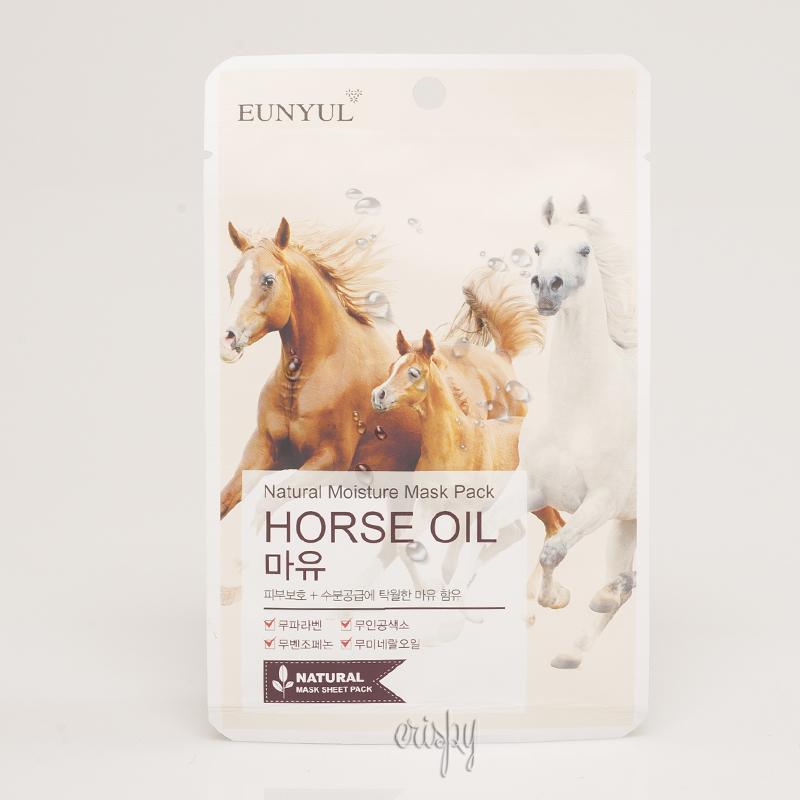 Увлажняющая тканевая маска с лошадиным жиром EUNYUL Natural Moisture Mask Pack-Horse Oil - 25 мл - Фото №2