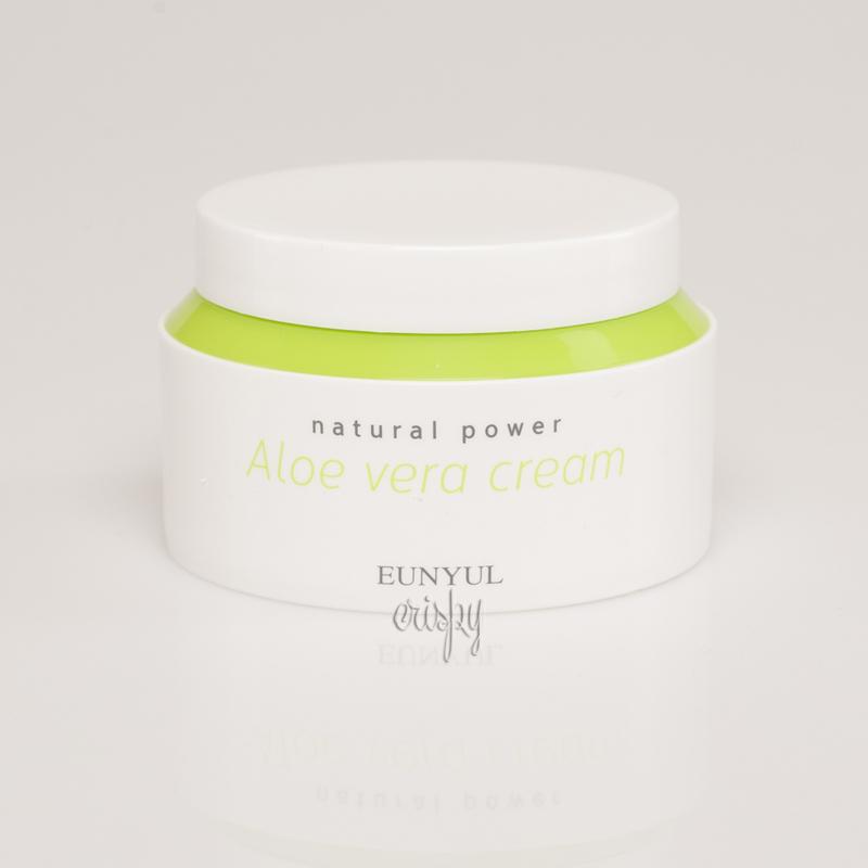 Крем с алоэ вера EUNYUL Natural Power Aloe Cream  - 100 мл - Фото №2