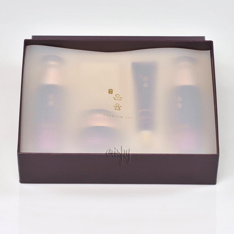 Набор антивозрастной премиальной косметики с красным женьшенем Eunyul Premium Set - 4 предмета