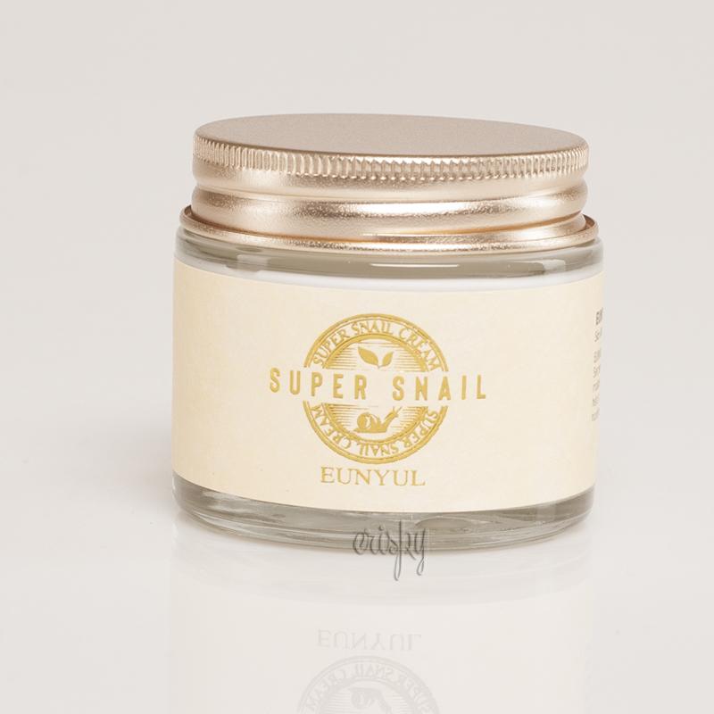 Крем для лица с максимальным содержанием улиточного фильтрата EUNYUL Super Snail Cream - 70 мл - Фото №2