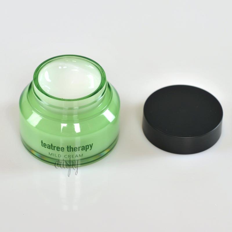 Крем для сияния кожи лица Eunyul Teatree Therapy Mild Cream - 70 г