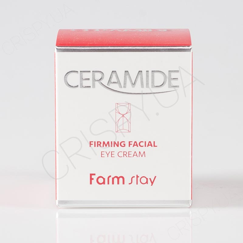 Крем для глаз с керамидами FARMSTAY CERAMIDE FIRMING FACIAL EYE CREAM - 50 мл
