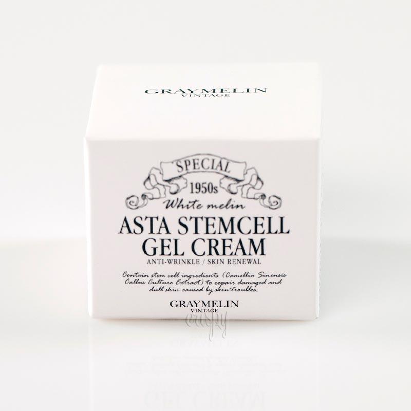 Антивозрастной гель-крем со стволовыми клетками Asta Stemcell Anti-Wrinkle Gel Cream GRAYMELIN (50 мл)