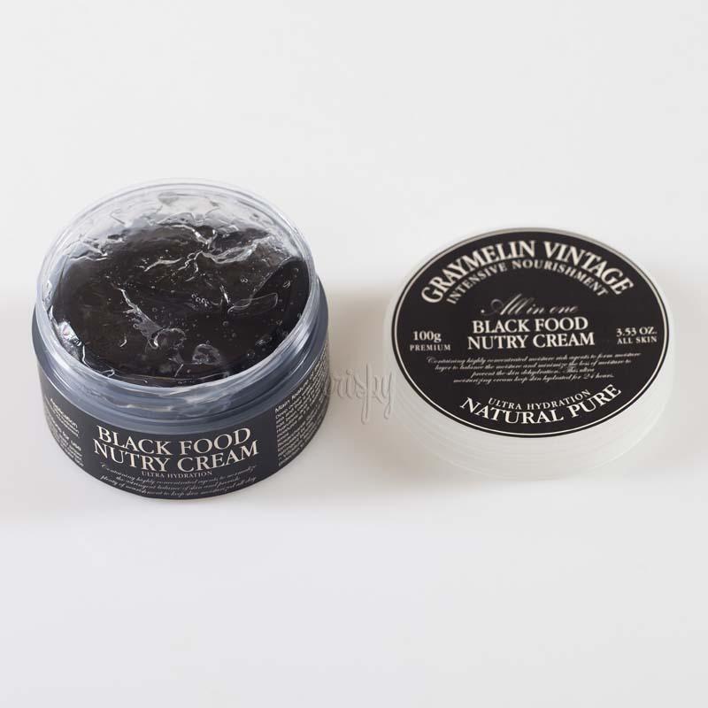 Ультраувлажняющий крем для лица Graymelin Black Food Nutry Cream - 100 мл - Фото №2