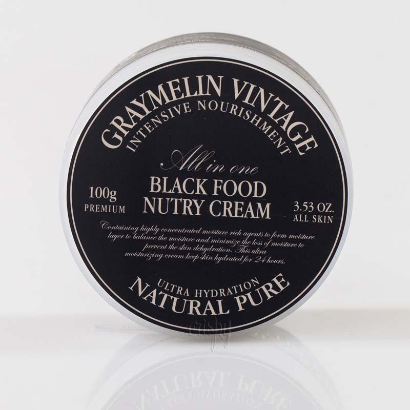 Ультраувлажняющий крем для лица Graymelin Black Food Nutry Cream - 100 мл