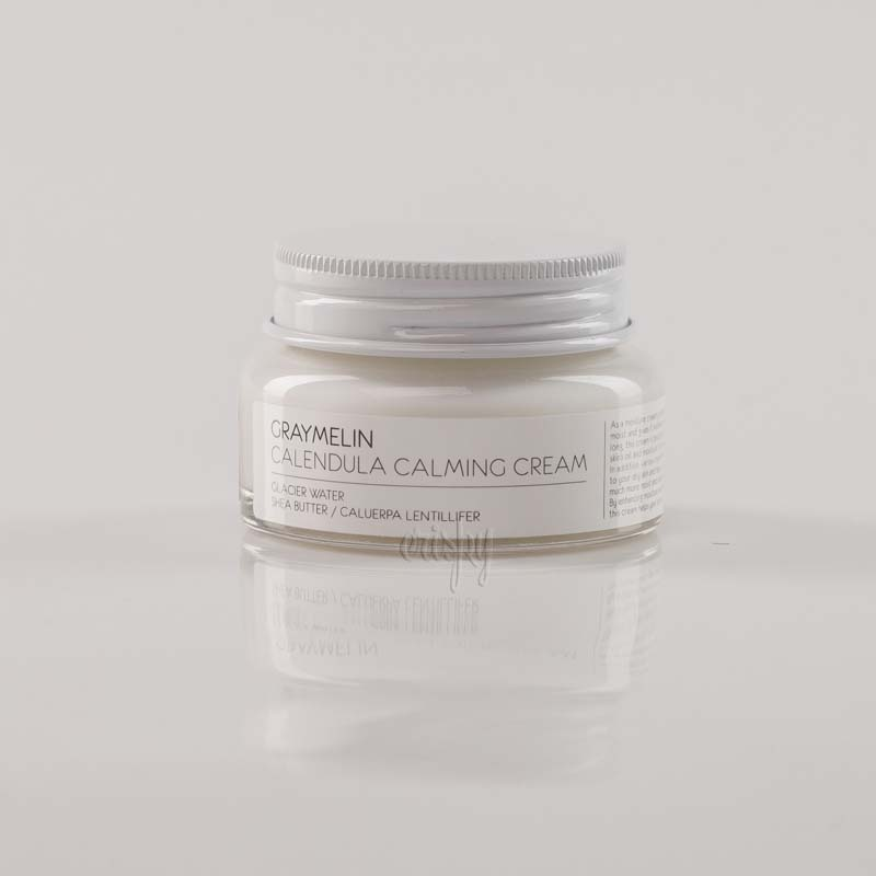 Крем для лица с календулой успокаивающий GRAYMELIN Calendula Calming Cream - 50 мл - Фото №2