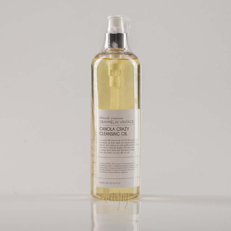 Гидрофильное масло с канолой GRAYMELIN Canola Crazy Cleansing oil - 500 мл
