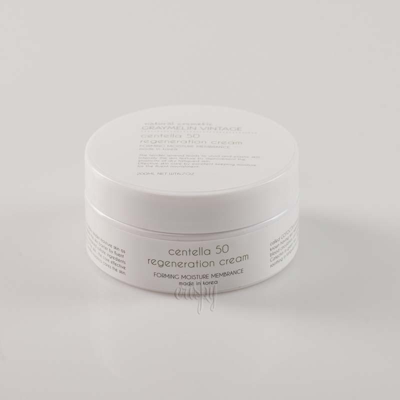 Восстанавливающий крем для лица с центеллой азиатской Graymelin Centella 50 Regeneration Cream - 200 мл - Фото №2