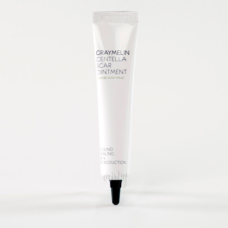 Лечебный крем с экстрактом центеллы азиатской Centella Scar Ointment GRAYMELIN - 30 гр - Фото №2