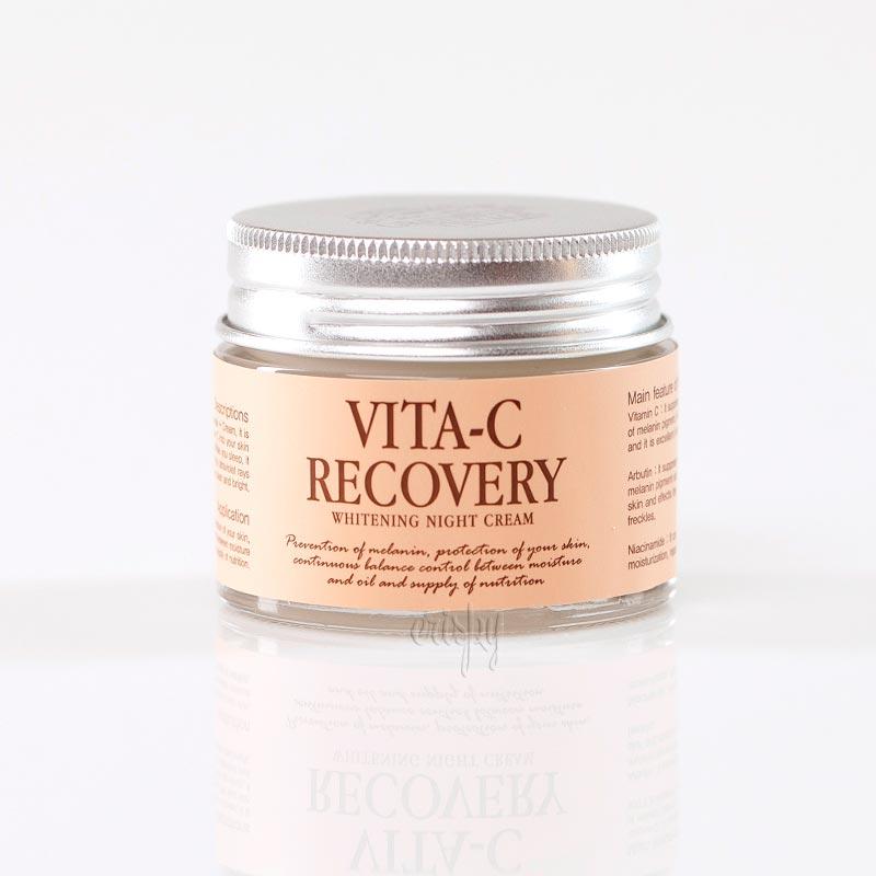 Ночной осветляющий крем для лица с витамином С GRAYMELIN Vita-C Recovery Whitening Night Cream - 50 мл - Фото №2