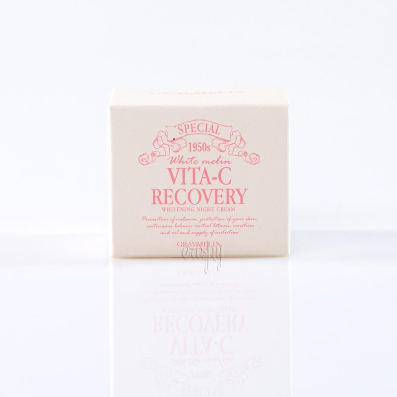 Ночной осветляющий крем для лица с витамином С GRAYMELIN Vita-C Recovery Whitening Night Cream - 50 мл