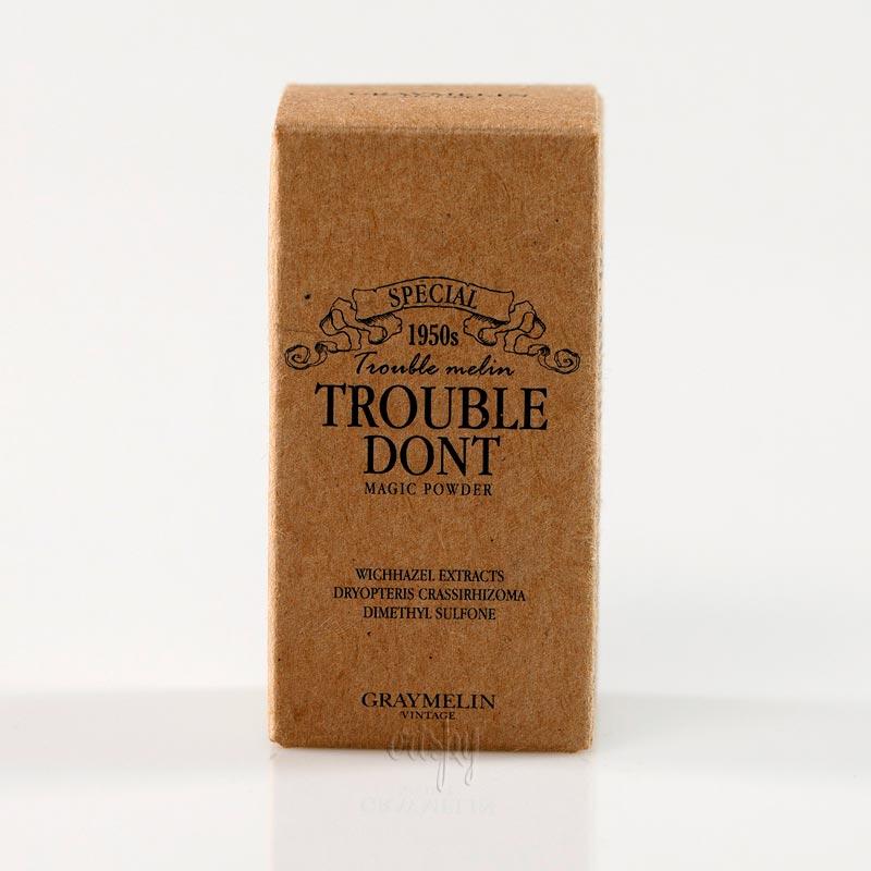 Двухфазная пудра от акне Trouble Don't Magic Powder GRAYMELIN (30 мл)