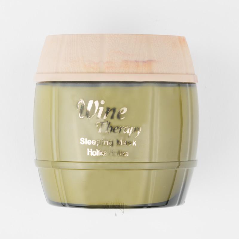 Ночная маска с добавлением экстракта белого вина Holika Holika Wine Therapy Sleeping Mask White Wine - 120 мл